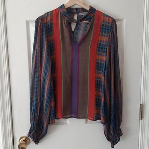 Conditions Apply Retro Peasant Blouse Size Large